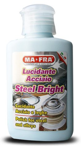 STEEL BRIGHT Mafra 80ml Poliranje metalnih površina