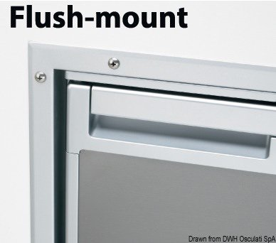 okvir Flush Mount CR50S Inox